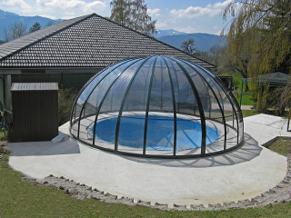Openable inground pool cover ORIENT