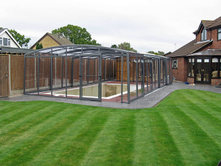 Inground pool enclosure VISION