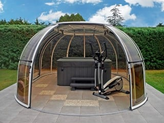 Make your own oasis of peace with hot tub enclosure Spa Sunhouse