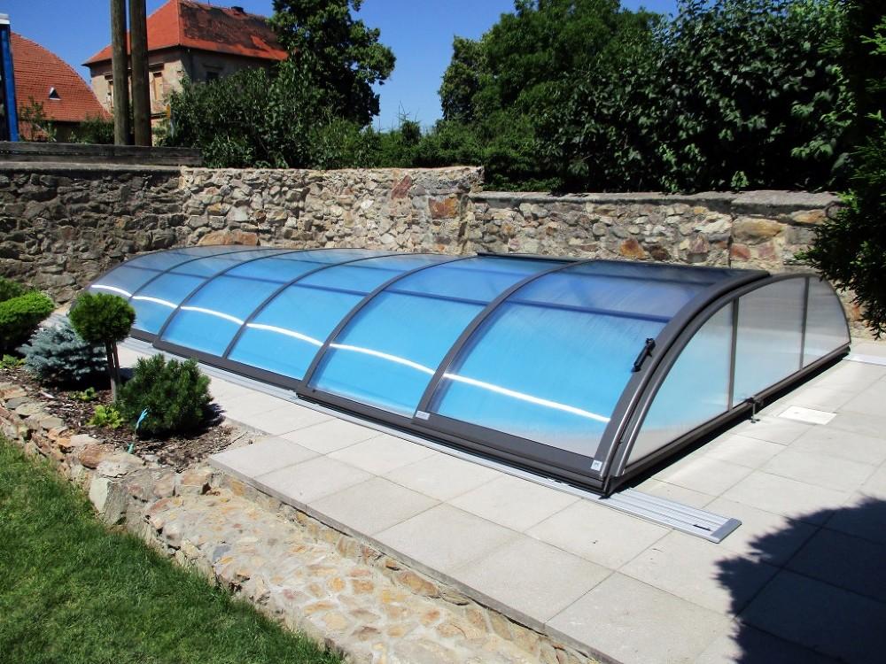 Zastřešení bazénů AZURE Flat