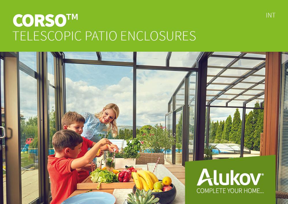 Catalogue of Patio Enclosures Corso