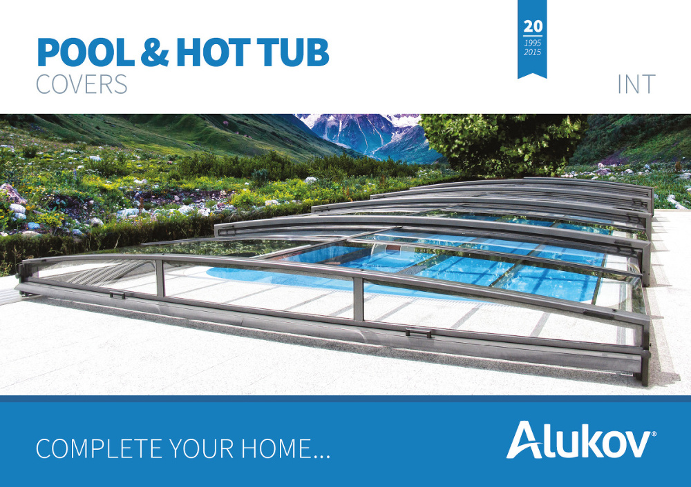 Catalogue of pool enclosures from Alukov