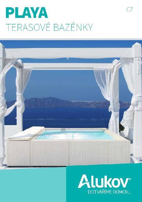 Katalog terasových bazénků Playa