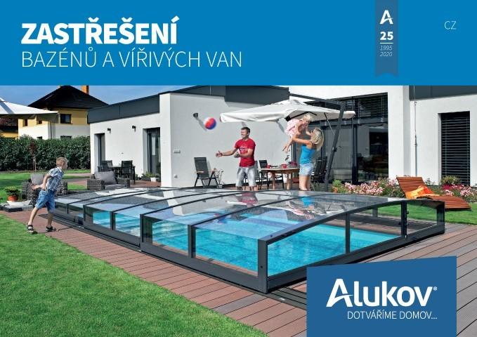 Katalog zastřešení bazénů ALUKOV ke stažení