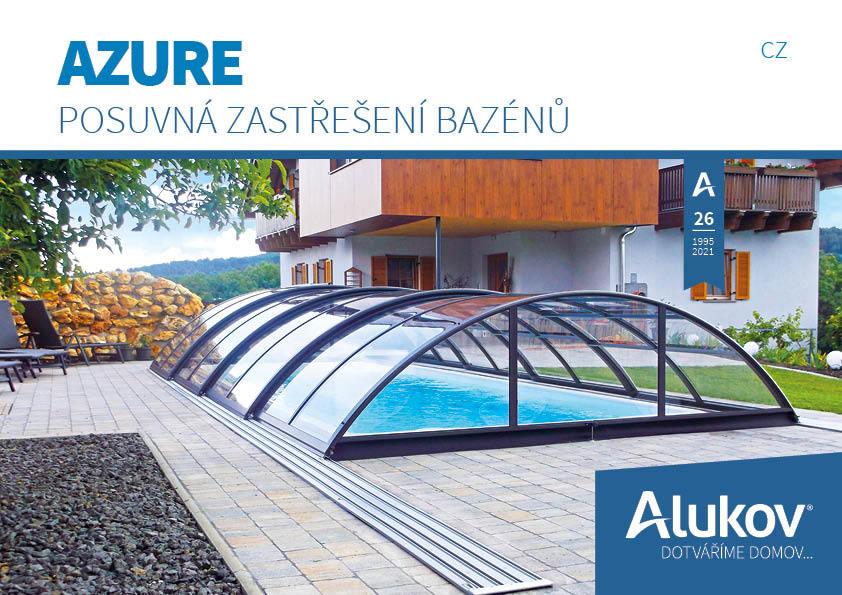 Katalog zastřešení bazénu Azure ke stažení