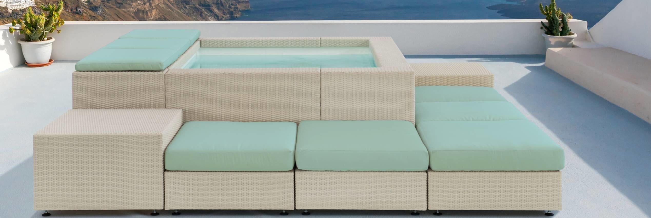 Terasový bazének Laghetto Playa