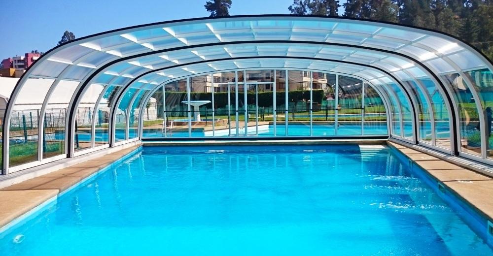 Vysoké zastřešení bazénu - model Laguna