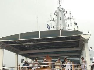Zastřešení CORSO na indických válečných lodích