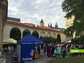 Letní slavnost v centru Prahy