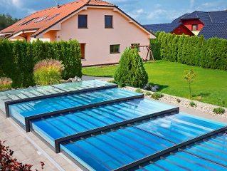 Nízké zastřešení bazénu - model CHAMPION (12)