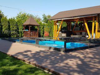 Nízké zastřešení bazénu - model CHAMPION (14)