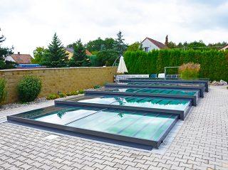 Nízké zastřešení bazénu - model CHAMPION (15)