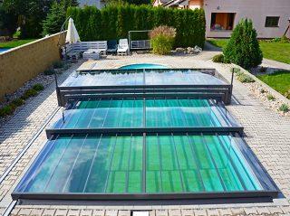 Nízké zastřešení bazénu - model CHAMPION (5)