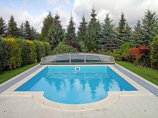 Nízké zastřešení bazénu - model CORONA™