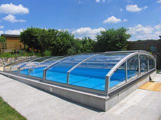 Nízké zastřešení bazénu, model IMPERIA NEO™ Light