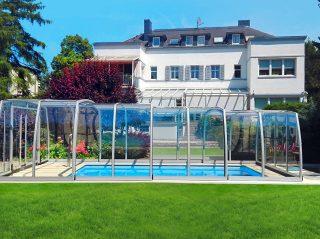 Přesuvné zastřešení bazénu Omega