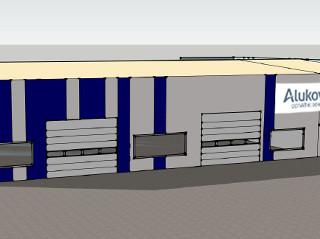 Vizualizace nového vývojového a testovacího centra v Orli u Chrudimi