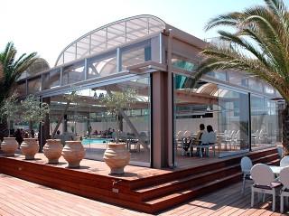 Jedinečné řešení zastřešení veřejného bazénu
