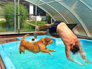 Zastřešení bazénů Alukov
