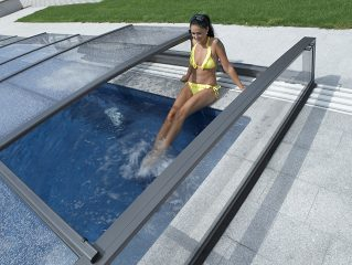 Zastřešení bazénu Alukov
