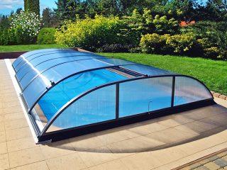 Zastřešení bazénu AZURE Flat Typ 3