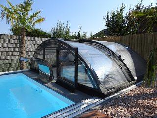 Zastřešení bazénu - model AZURE Compact (10)