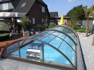 Zastřešení bazénu - model AZURE Compact (7)