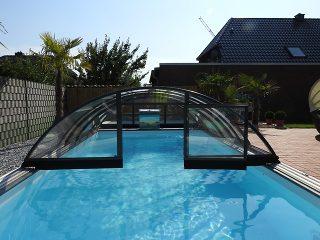 Zastřešení bazénu - model AZURE Compact (9)
