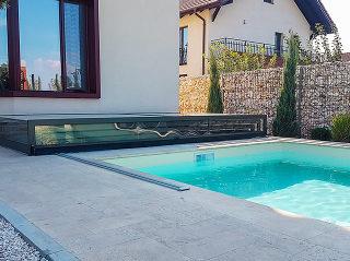 Motorizované zastřešení bazénu eChampion