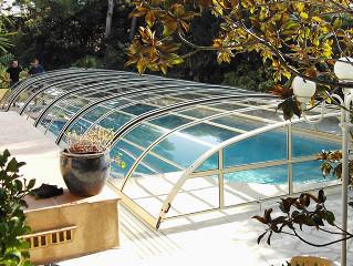 Zavřený kryt na bazén ELEGANT