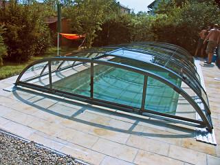 Kryt na bazén ELEGANT NEO™ s otevřeným bočním vstupem