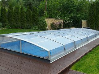 AZURE ANGLE - nejnižší zastřešení bazénu z modelové řady AZURE