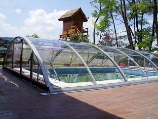 Zastřešení bazénu - model AZURE Compact (4)