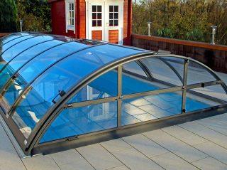 Zastřešení bazénu - model AZURE Compact (5)
