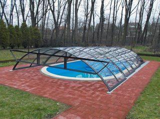 Zastřešení bazénu - model AZURE Compact (6)