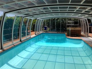 Zastřešení bazénu Omega