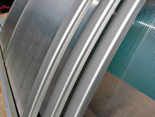 Kryt na bazén UNIVERSE NEO™ ve stříbrné barvě