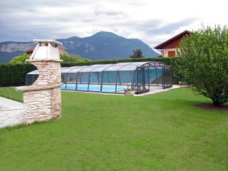 Zastřešení bazénu VENEZIA se stane dominantou Vaší zahrady