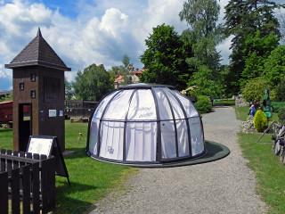 Zastřešení HORECA Spa Dome Orlando na zámku Berchtold