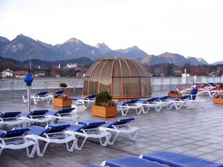 Zastřešení Spa Dome Orlando v horském středisku v Německu