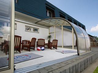 Příjemné posezení na Vaší terase zajistí zastřešení CORSO