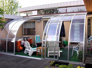 Zastřešení CORSO Entry zvýší užitnou hodnotu Vaší terasy
