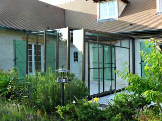 Posuvné dveře u zastřešení terasy CORSO Glass