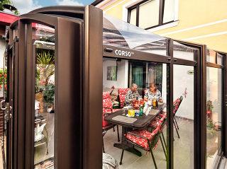 Zastřešení terasy Corso Premium