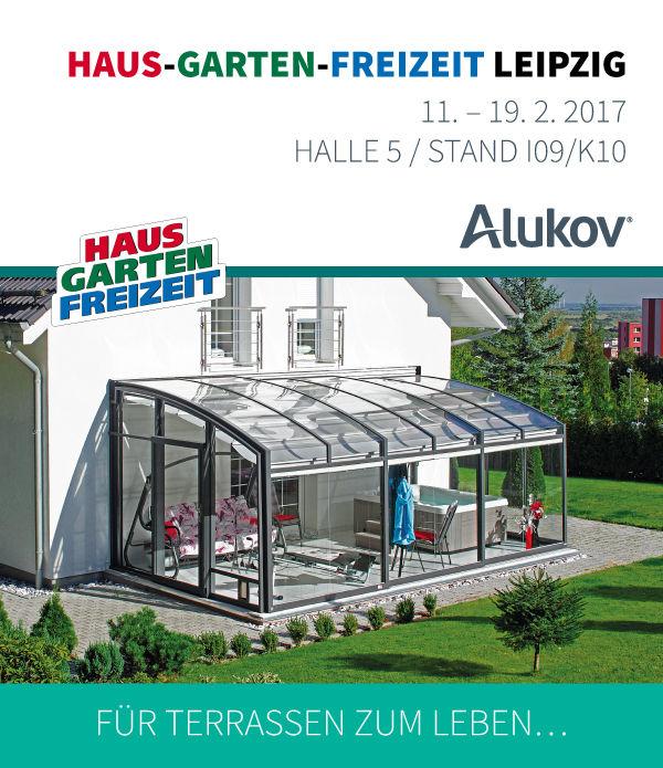 Besuchen Sie Uns Jetzt Auf Der Messe Haus Garten Freizeit In Leipzig! |  Alukov.de