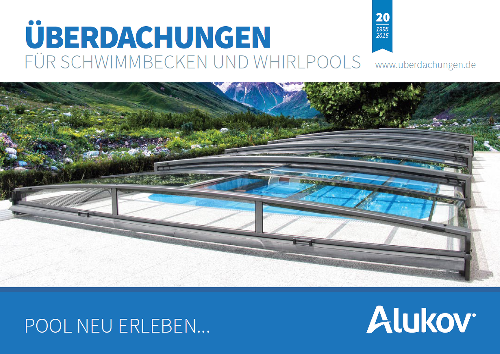 Alukov Poolüberdachung Katalog zum Download