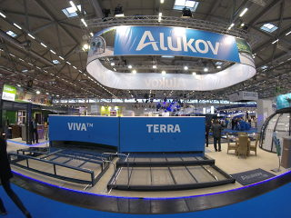 Alukov Messestand