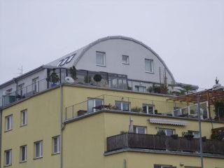 Balkonüberdachung CORSO Premium von ALUKOV Deutschland