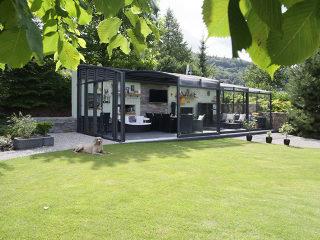 CORSO Premium kann auch als entsprechendes Gartenhaus dienen