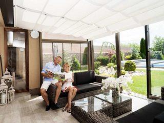 Ganzjährige Nutzung Ihrer Terrasse, unabhängig vom Wetter